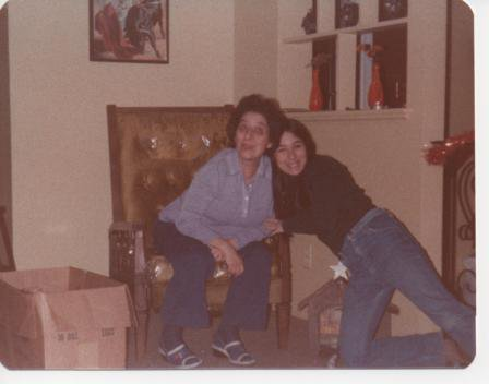 me & mom in the 70s