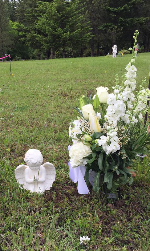 Shane's burial site