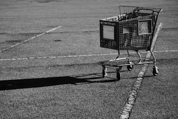 shopping-cart-in-lot