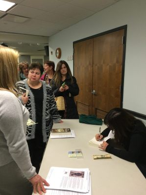 Book Talk at Sayville Public Library 3